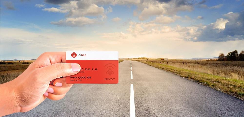 thẻ thanh toán nhiên liệu Dibee