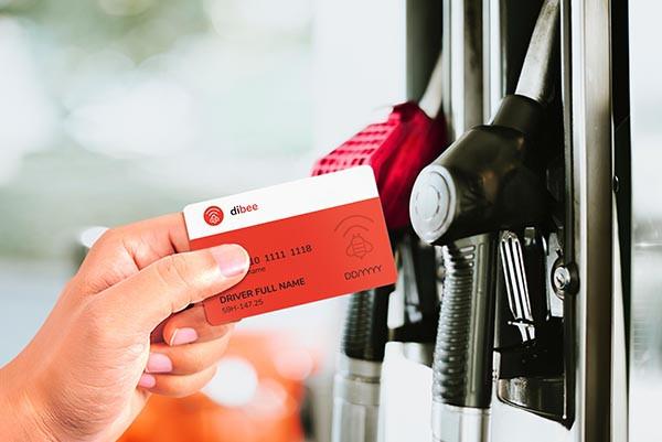 thẻ nhiên liệu Dibee