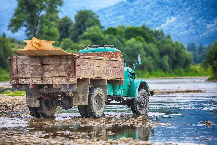 xe tải cũ