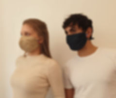 Masque Altrenatifs en tissu Nery Création