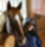 Dakota and horse Sonny-D
