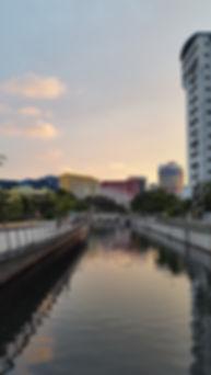 Singapore är en härlig stad att promenera i