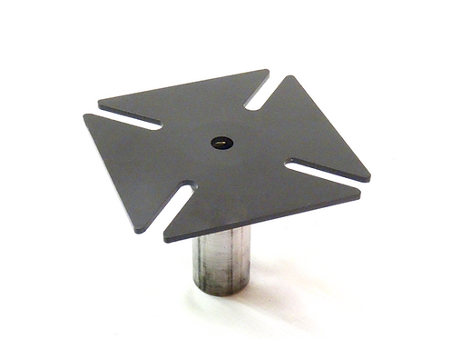 Bench Vise/Mounting Plate with post