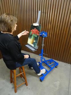Art Easel C.V. Jr. Total Cart