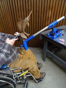 crossover vise II system for physically challenged