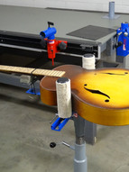 Howard's Guitar Saddle Work Station
