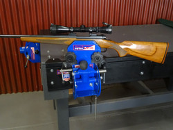 Gun Vise system integrates easily into the Total Vise Crossover Vise Track system