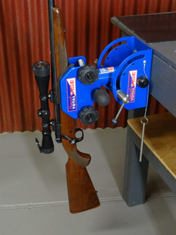 Position your work with ease using the Sportsman Gun Vise