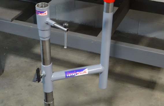 Speed Track System with Bench Support Swing Pedestal