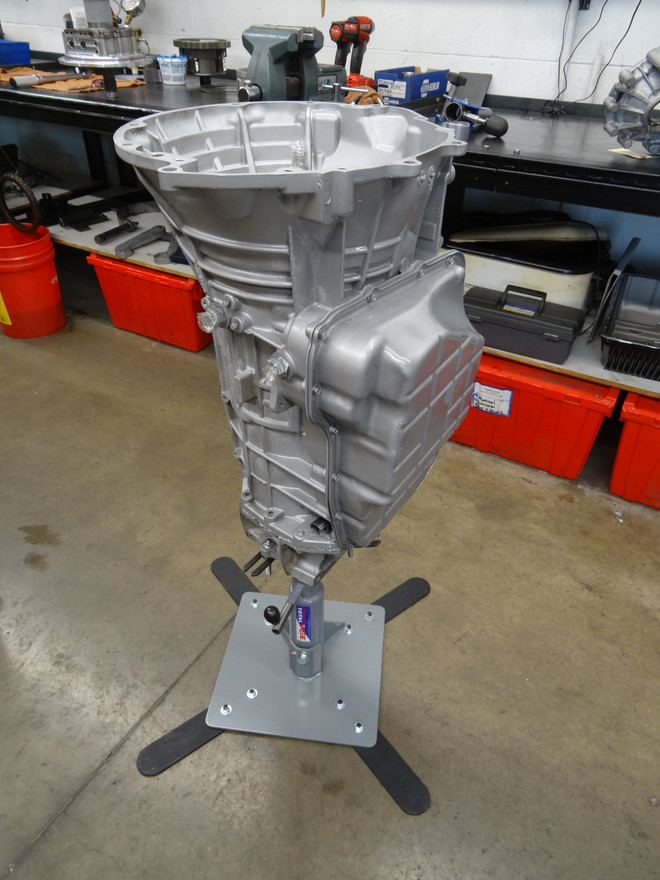 "12"" Transmission Pedestal with Multi Adapt Support"
