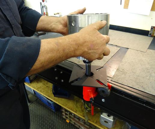 Speed Track Locking System