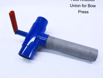 Axis Knuckle Union For Bow Press