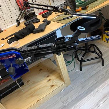 Sportsman Gun Vise Package & Track System