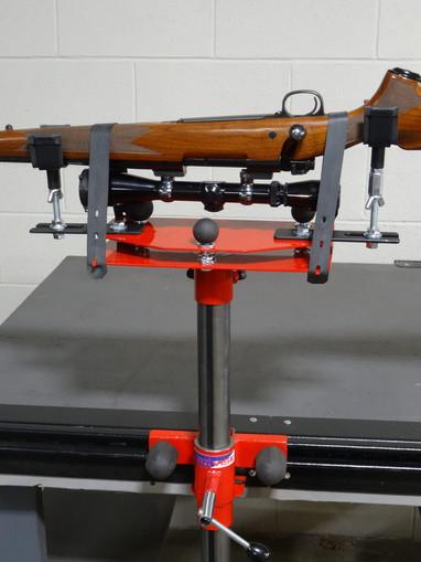 Adjustable Scope Setting Platform