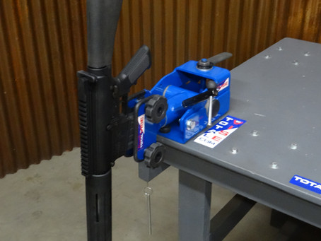 Prevent and gain precision with total vise gun hold.