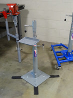 Telescoping Pedestal,Rolling Cart Pedestal, Bench Support Swing Pedestal