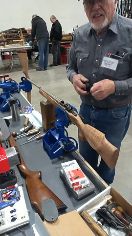 Gunsmith Gerry in action