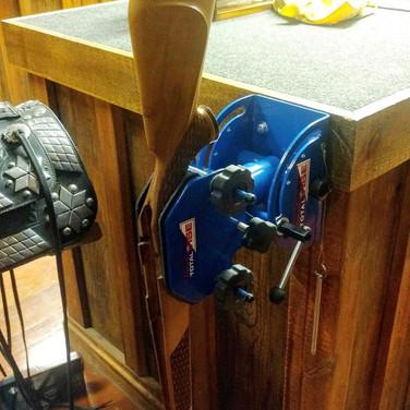Sportsman Gun and Bow Vise Station
