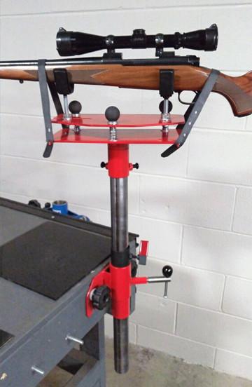 Rifle Scope Sighting Platform