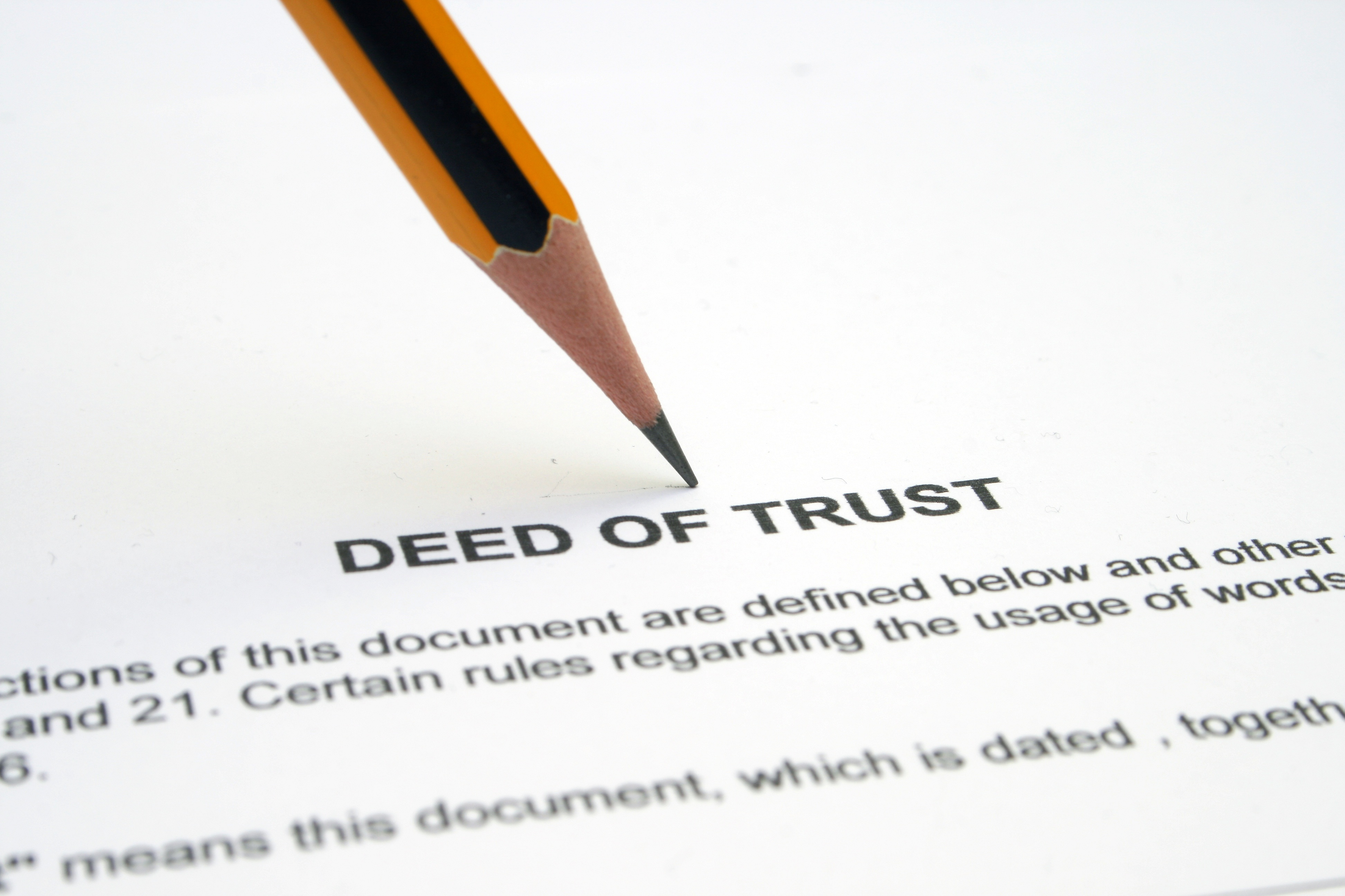 Mortgage Deed of Trust