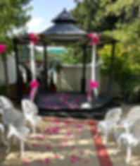 Stanley House Gazebo Wedding