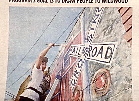 Main Street Wildwood Mural Project