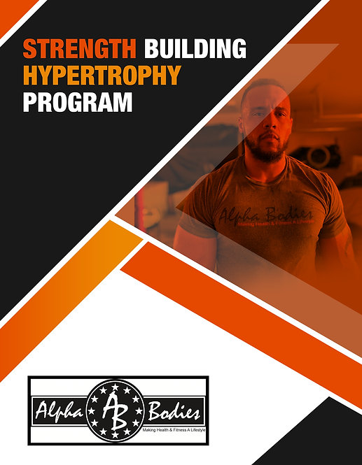 Strength Building Hypertrophy Program