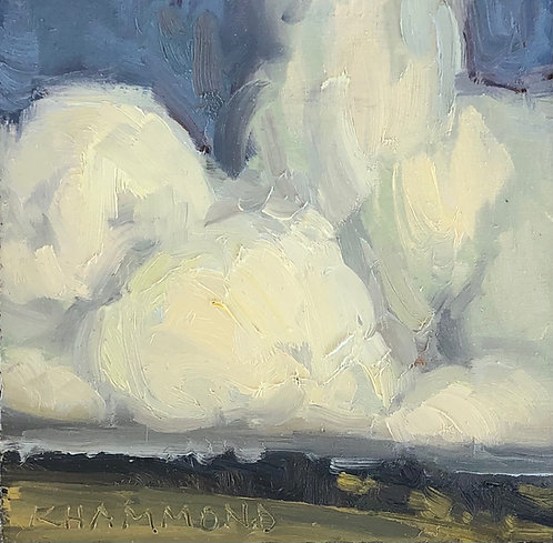 """Heavy Clouds (5""""x5"""")"""