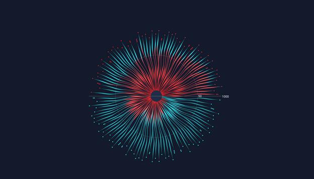 Wheel of Churn Data Viz