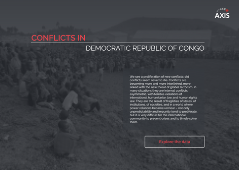 Conflicts in the DRC Web App