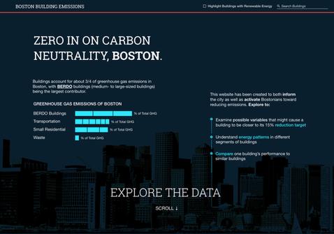 Building Emissions Web App