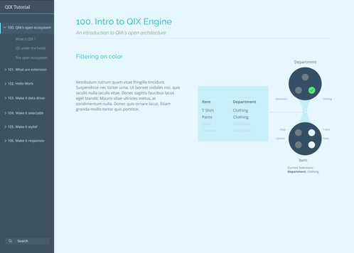 QIX Tutorial Web App