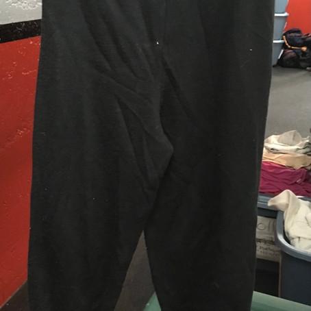 Pantalon coton ouaté