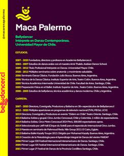 #Bio @macarenapalermo