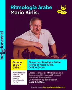 Ritmología con Mario Kirlis