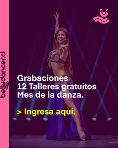Talleres gratuitos mes de la danza.