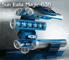 Executive Tans  Sun Italia Magic High Pressure Level 6 Tanning Bed