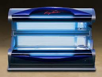 Executive Tans Ergoline 600 Level 4 Tanning Bed