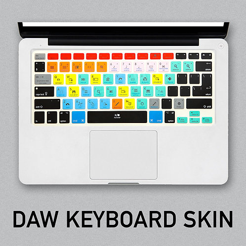 DAW Keyboard Shortcut Skin