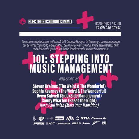 Stepping Into Music Management