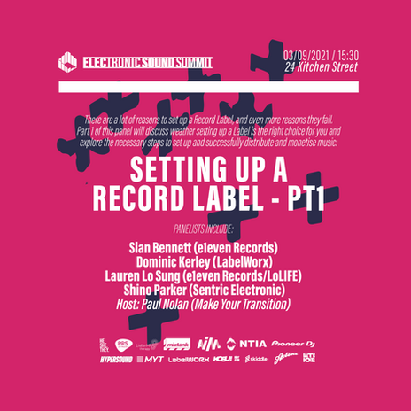 Setting Up a Record Label - Pt1