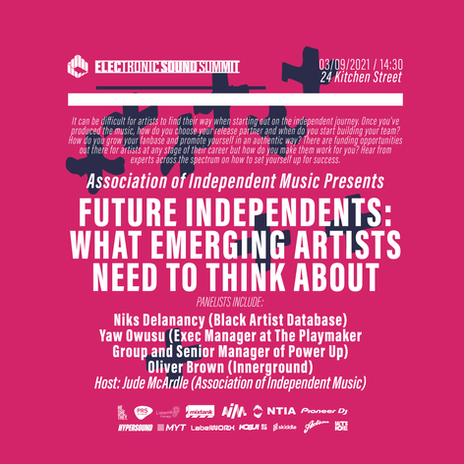 Future Independents: What emerging artists need to think about