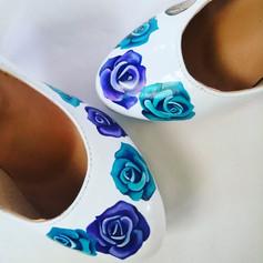 Roses Wedding Shoes