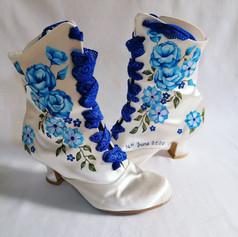 Satan Wedding Boots