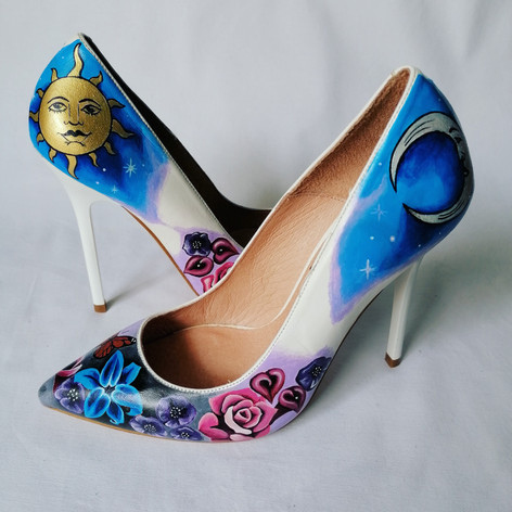 Celestial Wedding Shoes