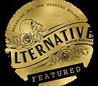 Alternative Wedding Magazine Featured Ba