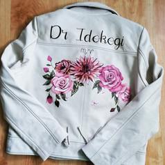 Hnad Painted Wedding Jacket