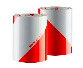 Kit bandes alternée rouge/blanc classe A