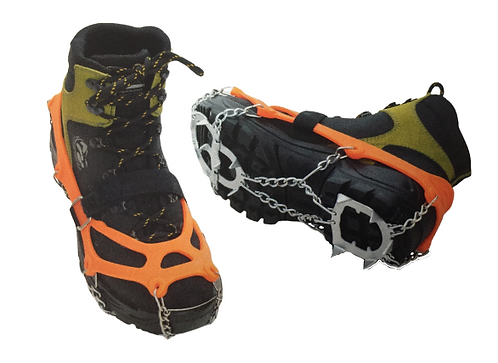crampons chaussures neige glace