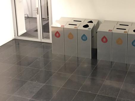 Des meubles de tri pliables pour économiser des molécules de CO2